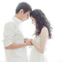 婚纱qq情侣头像:爱你无法拥有你