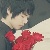 qq头像男生 花:不要问我爱你有多