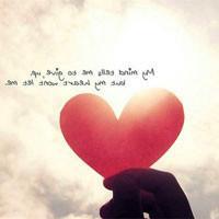 意境qq头像:我们的爱情