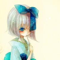 qq女生卡通头像唯美:你是蓝天