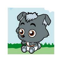 小灰灰qq头像:清澈明亮的瞳孔