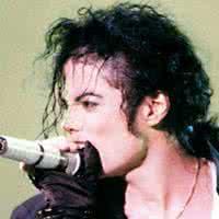 迈克尔杰克逊qq头像:瀑布一般的