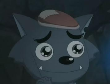 灰太狼的帅气qq头像:我爱你的容