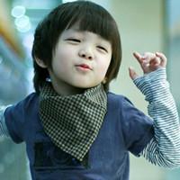 qq头像萌小孩男生:你的微笑让我难以忘记