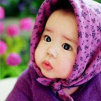 qq小孩可爱头像:你的一颦一笑