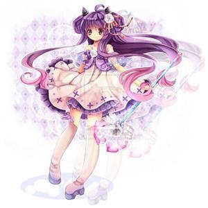 qq头像紫发女生:过去现在的不同