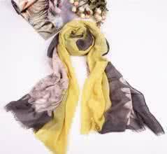 qq戴围巾的情侣头像:对你的爱