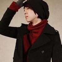 qq头像戴帽子男生背影:因为你的可爱
