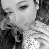 qq女生头像霸气抽烟:生命最终如轻烟消散