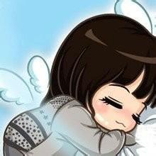 qq高清情侣卡通头像:因为爱情