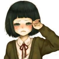 流泪的qq头像:有才有貌