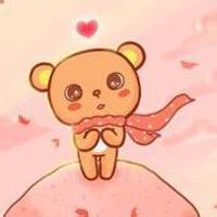 小熊的qq头像:日是小草的心