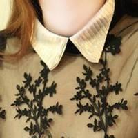 qq女生头像衣领:我的爱如火苗