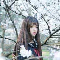 qq头像女生小清新森系:第一次见到你