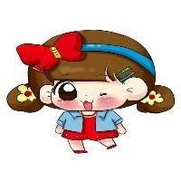 姐妹卡通qq头像:被爱是享受的