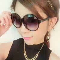 qq头像女生墨镜时尚:如果我是蜻蜓
