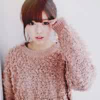 QQ女生头像韩式:一个人的天空很