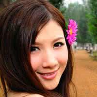 韩国女生qq头像唯美:世界上最闪烁的是眼眸