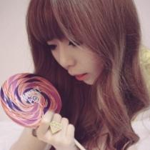 qq头像女生吃棒棒糖:我写不出华