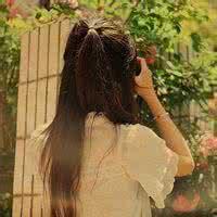 qq头像女生侧脸或背影:你的轻怜与不舍
