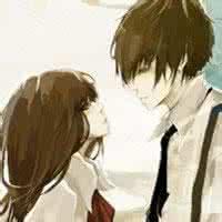 qq女生头像动漫冷酷无情:爱你的心里很甜蜜
