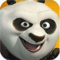 熊猫qq头像:冰冷的天上飘着雪花