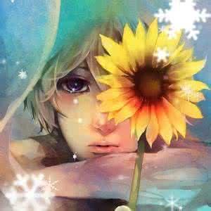 qq头像 向日葵:爱你没道理