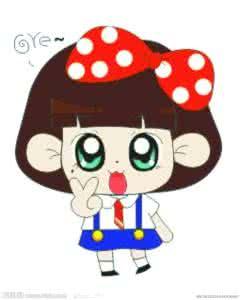 qq头像儿童女生卡通:过去爱你口难开