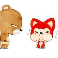 动物卡通qq头像:我想把梦想变成烟花