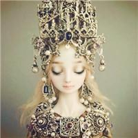 qq头像女生王冠:是你给了我整片的星空