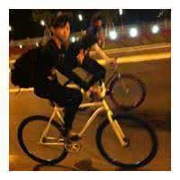 qq头像自行车:我用我所有的力量