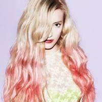 qq头像彩色头发