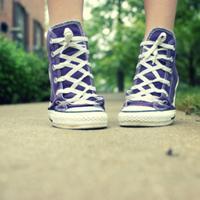 qq头像帆布鞋:在我眼里