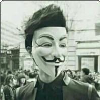 qq戴面具头像