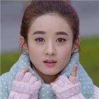 qq明星头像赵丽颖:一见倾心