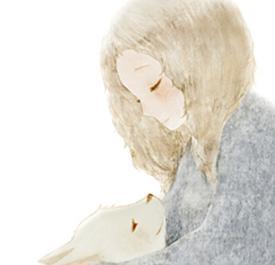 动漫猫的qq头像:我喜欢跟你在一起